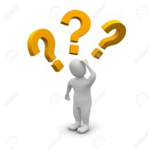 4985577-Thinking-man-and-question-marks-3d-rendered-illustration--Stock-Illustration